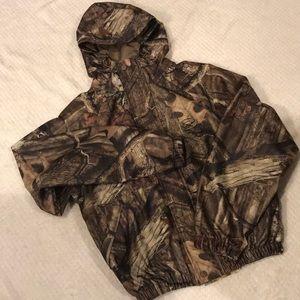 Boys camouflage TedHead jacket.